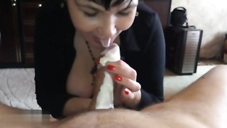 Amateur Russian 6 (BJ With Lashed Cream)