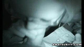 A Very Nasty Blonde Amateur Girlfriend Homemade Suck And Fuck Outdoor With Her Fat Boyfriend And Nic