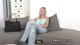 Busty Amateur Blonde Banged Office Breasts