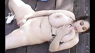 BBW-Girls With Huge-Boobs Outdoors