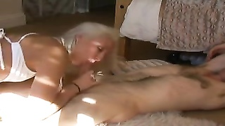 Young Tattooed Blonde Amateur Hardcore