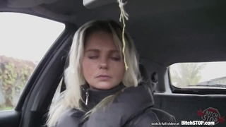 Hoe Cease – Blondy Czech Mummy  Picked Up At The Bus Dwelling