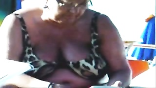 Russian Busty Ragged Grannies On The Beach! Amateur!