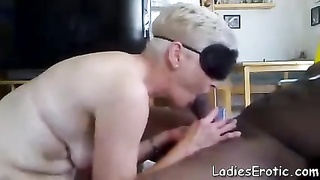 Old Granny Amateur Interracial Anal