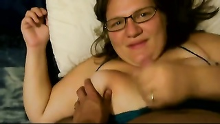 BBW Hand Job #7 (On The Bed)